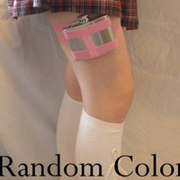 Flask Garter from GartersByLori.com - Discounted Random Color #costume
