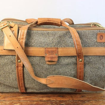Vintage Hartmann Luggage Travel Suitcase from theDarlingVintage