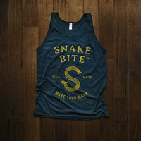 Snake Bite Brand Tank Top - Mens & Womens