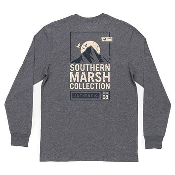 Long Sleeve Summit Poster Tee by Southern Marsh