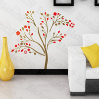 Abstract Flower - Wall Decals Stickers Appliques Home Decor