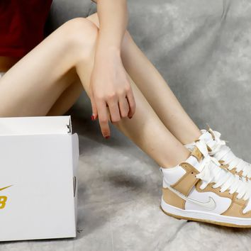 """[Free Shipping  ]Nike SB Dunk High TRD QS 881758-217""""Win Some,Lose Some"""" Basketball Sneaker"""
