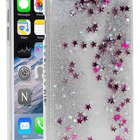 Skinnydip 'Silver Glitter' Liquid iPhone 6 Case