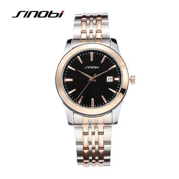 Men's Casual Wrist Watches Waterproof Golden Watchband Top Luxury Male Geneva Quartz Clock