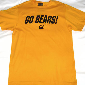 California Golden Bears Majestic Short Sleeve T Shirt Size L