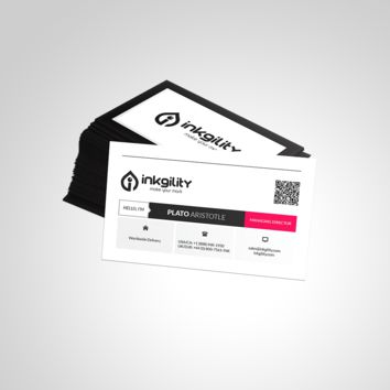 METRO STYLE (INK-408) BUSINESS CARD