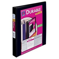 "Avery 1"" Ring Binder with Durable Clear View Cover, 8.5"" x 11"""