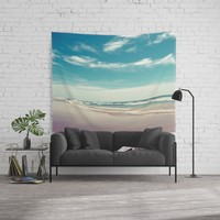 The swimmer Wall Tapestry by vanessagf
