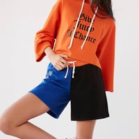Juicy Couture For UO Cropped Hoodie Sweatshirt | Urban Outfitters