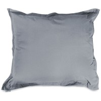 Gray Solid Floor Pillow