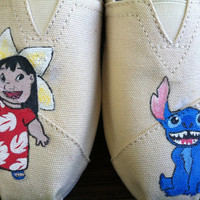 Lilo and Stitch TOMS by KillerKicks23 on Etsy