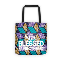 Stay Blessed & Unbothered Tote Bag
