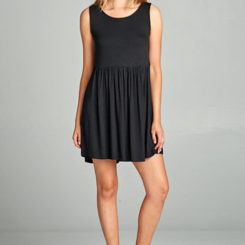 Ready for Fun Black Dress