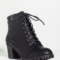 Baxter-08x Army of Me Lug Sole Bootie