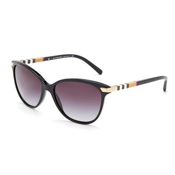 Burberry Heritage Color Block Square Check Cat Eye Sunglasses | Dillards