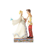 Disney Traditions Wedding Cinderella & Prince Jim Shore Figurine New with Box