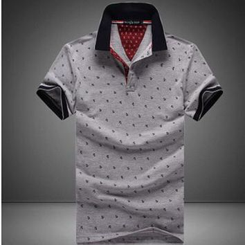Casual Stand Collar Polo