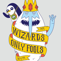 Wizards Only Fools Art Print by Wharton