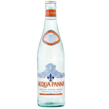 Acqua Panna Natural Spring Water 500 ml Glass Bottles - Case of 24
