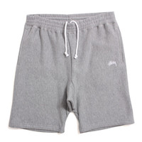 Stock Fleece Shorts Heather Grey