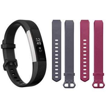 Fitbit Alta HR Activity Tracker Bundle-Large