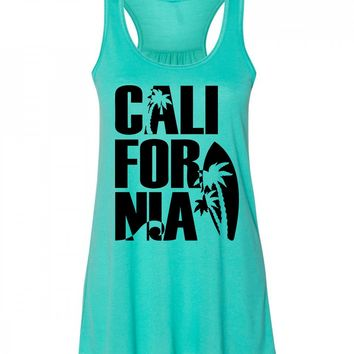 California Beach Tank Top for Women