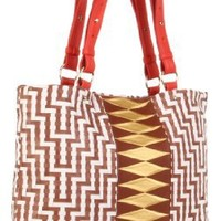 Elliott Lucca Cartagena Tote,Cayenne Tribal,One Size