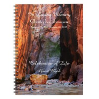 Celebration of Life Guest Book Zion Narrows Rock