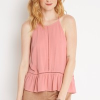 Blooming Meadows Ruffle Hemmed Top