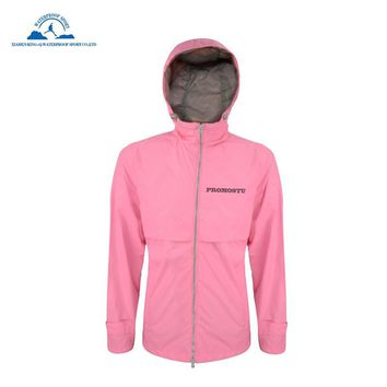 Ultra Lightweight Rain Jacket Saftey Outdoor Waterproof Rain Jacket for Women  Reflective Raincoat Blue Summer Coat Red Clothing