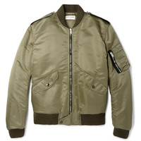 Saint Laurent - Shell Bomber Jacket | MR PORTER