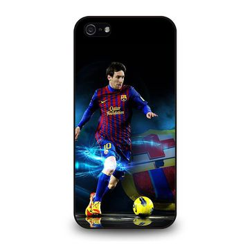 LIONEL MESSI BARCELONA iPhone 5 / 5S / SE Case Cover