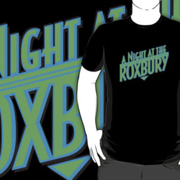 #na A Night At the Roxbury movie black t-shirt