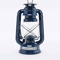 Sunnylife Storm Lantern Printed Oil Lamp in Blue - Urban Outfitters