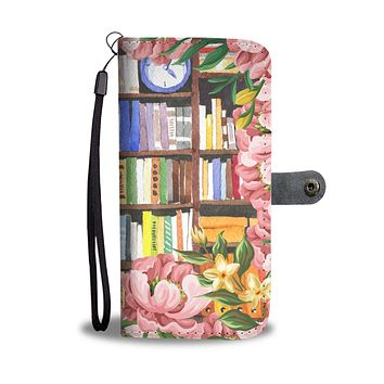 Cozy Library Nook Wallet Phone Case