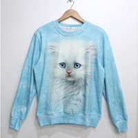 Lovely small cat fleece