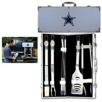 Dallas Cowboys NFL 8pc BBQ Tools Set