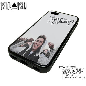 Yours And Always Niall Horan One Direction Cute Apple iPhone Case Cover Skin Design 4 4S 5 5S 5C S4 SIV