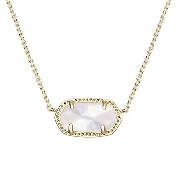 Elisa Pendant Necklace in Ivory Pearl - Kendra Scott Jewelry