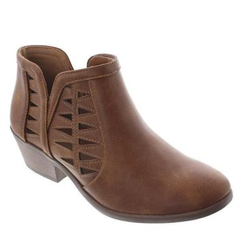 Chance-S Cut-Out Ankle Boots