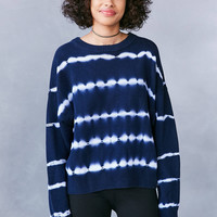 Ecote Tie-Dye Crew-Neck Sweater | Urban Outfitters