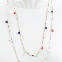 Vintage Patriotic Necklace