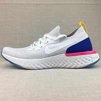 NIKE Epic React Flyknit Woman Men Fashion Trending Sneakers Running Sports Shoes