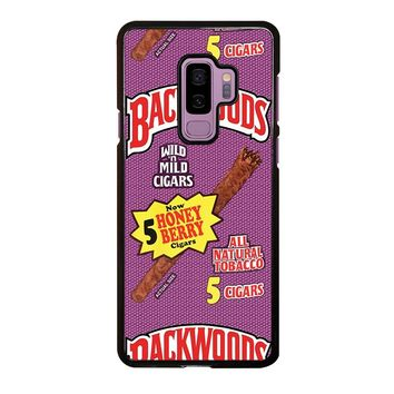 ONLY BACKWOODS CIGARS Samsung Galaxy S9 Plus  Case