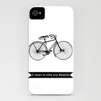 bicycle iPhone Case by Beverly LeFevre | Society6