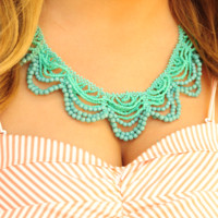 Live For The Night Necklace: Blue