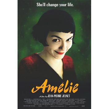 Amelie 27x40 Movie Poster (2001)