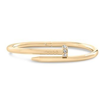 Sterling Forever | CZ Nail Bangle | Nordstrom Rack