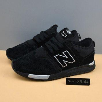 DCCKGQ8 cxon new balance nb247 mid high all black for women men running sport casual shoes sneakers