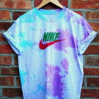 Cryptic Cult — pastel tie dye NIKE t shirt